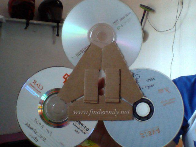 antena penguat sinyal dari cd bekas 2021