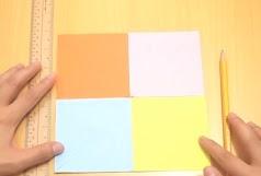 baling baling dari kertas dengan warna yang berbeda 2020
