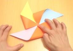 bentuk lipatan pada kertas baling baling 2020