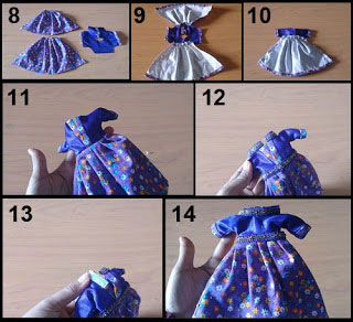 cara membuat baju barbie dari kain bekas yang mudah 2 2021