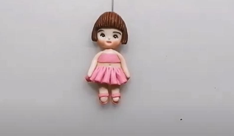 cara membuat boneka balerina dari plastisin 2020
