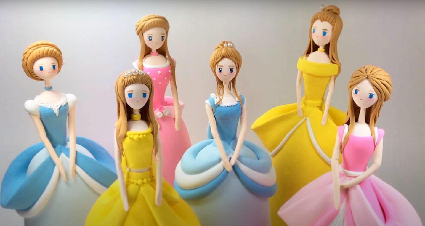 cara membuat boneka princess dari plastisin 2020