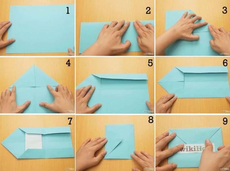 cara membuat kerajinan amplop panjang yang mudah dari kertas hvs 2020