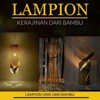Cara Membuat Lampion dari Bambu Yang Unik Beserta Gambarnya!