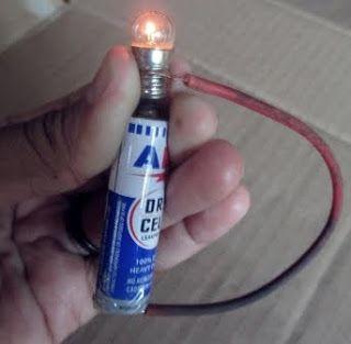Cara Membuat Lampu dari Baterai ABC Yang Mudah dan Simpel