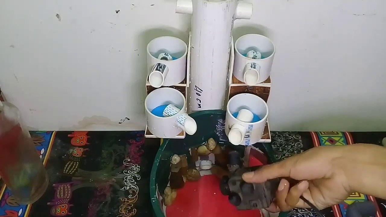 kerajinan air mancur sederhana dengan bahan paralon 2021