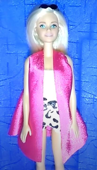 kerajinan baju barbie dari kain bekas yang simple 2021
