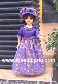 kerajinan baju barbie dari kain bekas 2020