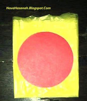 kerajinan bunga dari kantong kresek warna warni 4 2020