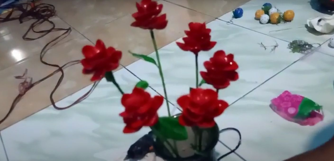 Cara Membuat Bunga dari Kulit Kerang yang Mudah dan Simpel