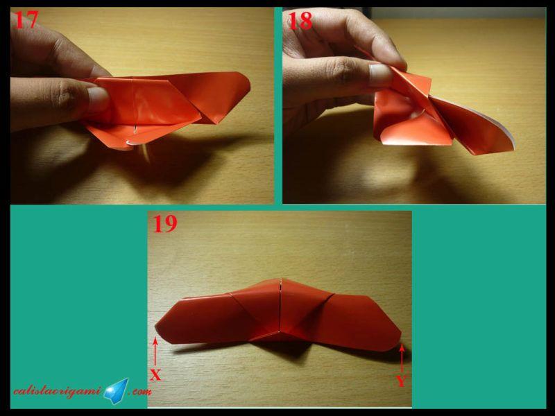 kerajinan kupu kupu dari kertas lipat 2 2021