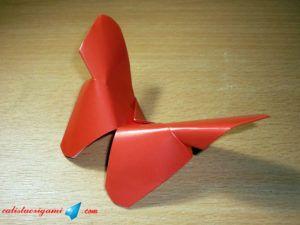 kerajinan kupu kupu dari kertas lipat 2021