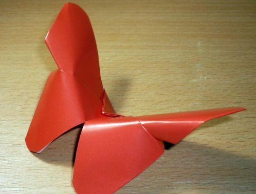 kupu kupu dari kertas origami yang mudah 2020