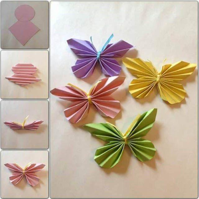 kupu kupu hiasan kupu kupu mudah dari kertas lipat 1 2020