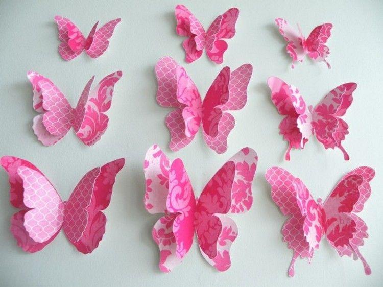 kupu kupu pink dari kertas lipat 2021