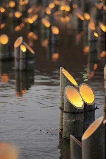 lampion bentuk bambu runcing dari bambu 2020
