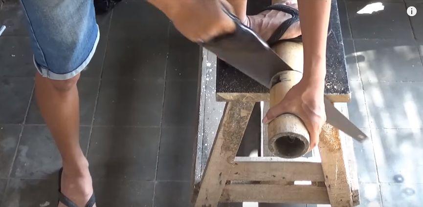 langkah cara membuat lampion dari bambu no 1 2020