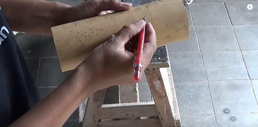 langkah cara membuat lampion dari bambu no 4 2020