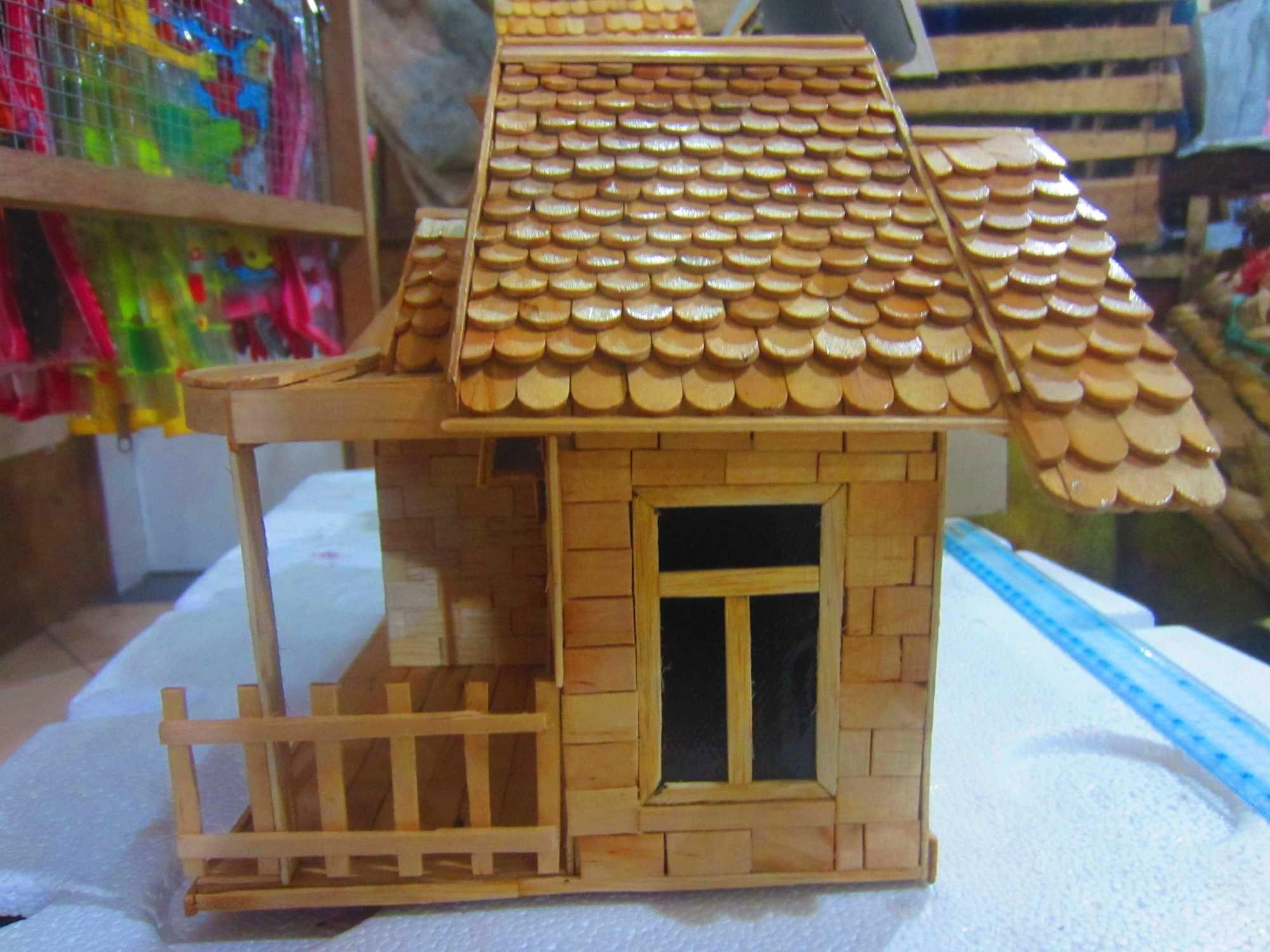 Cara Membuat Miniatur Rumah dari Kardus dan Stik Es Krim ...