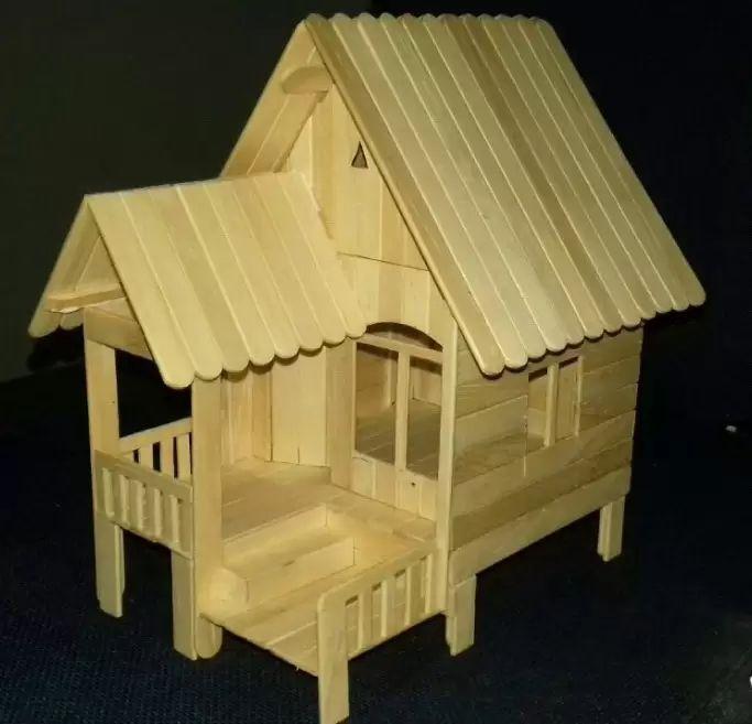 miniatur rumah panggung 2021